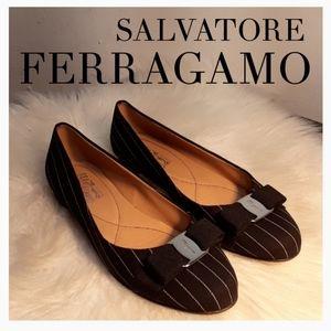 SALVATORE FERRAGAMO SLIP ON'S FLATS
